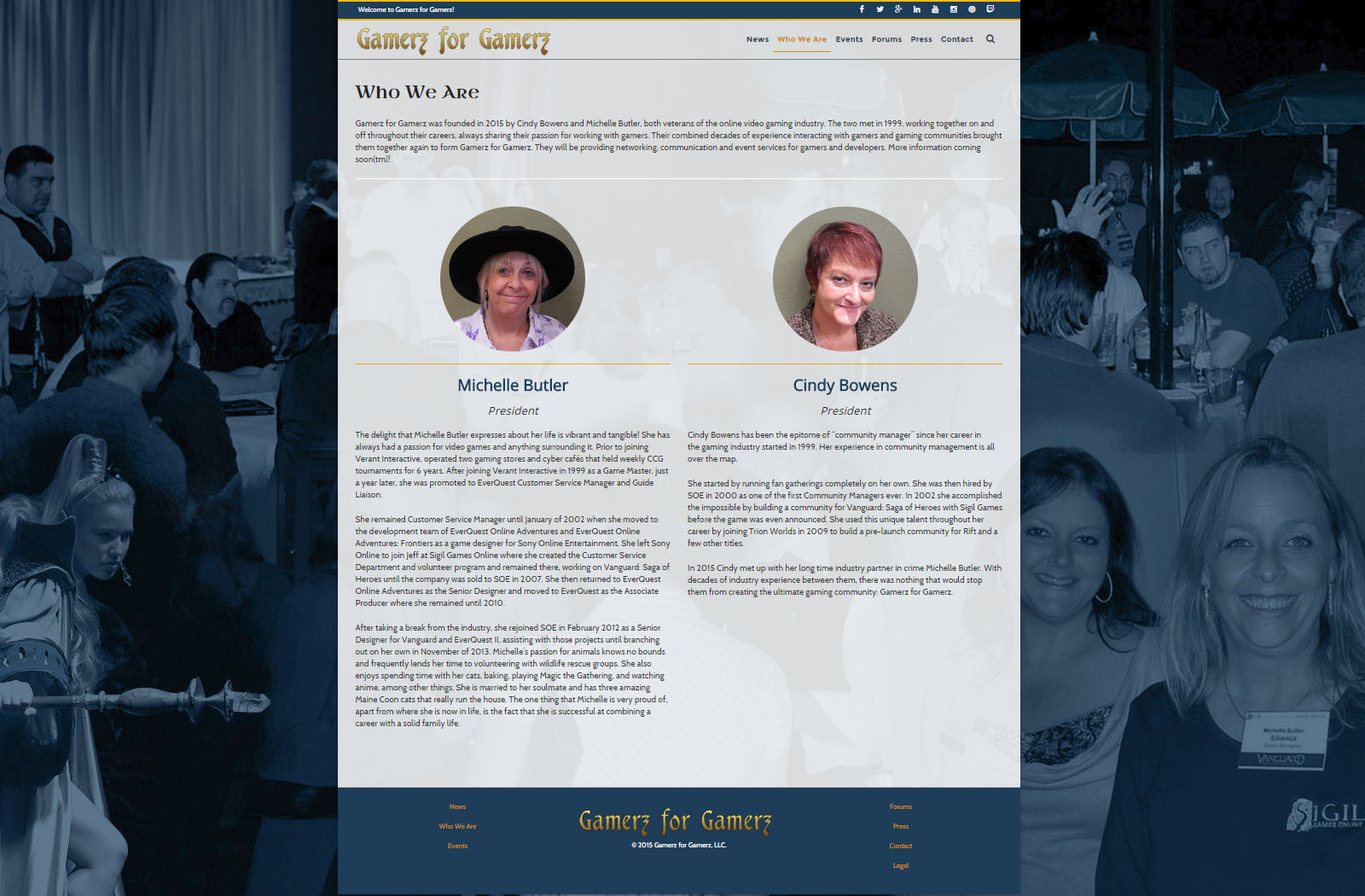 Gamerz for Gamerz website